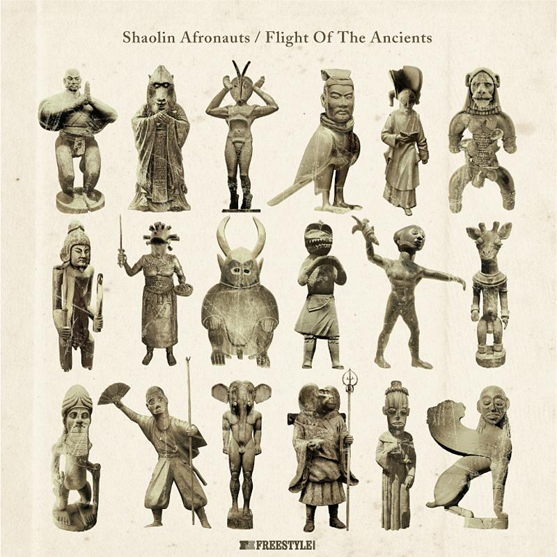 Shaolin Afronauts/FLIGHT OF ANCIENTS LP