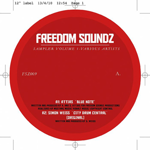 Various/FREEDOM SOUNDZ SAMPLER VOL.1 12""