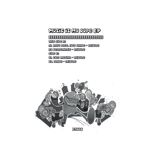 """MAW & Various/MUSIC IS MY DOPE EP 12"""""""