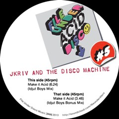 J Kriv & TDM/MAKE IT HOT PART TWO 12""