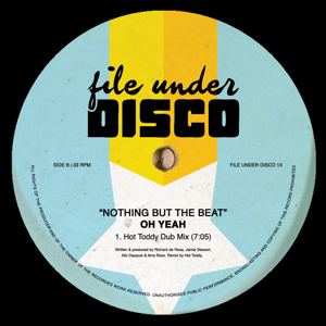 Oh Yeah/NOTHING BUT THE BEAT 12""