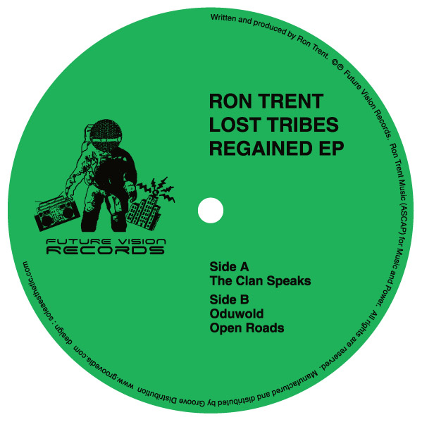 Ron Trent/LOST TRIBES REGAINED EP 12""