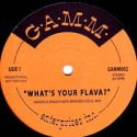 Markus Enochson/WHAT'S YOUR FLAVA? 12""