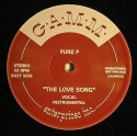 Pure-P/THE LOVE SONG & 5 ON IT 12""