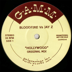 Bloodfire vs Jay Z/HOLLYWOOD 12""