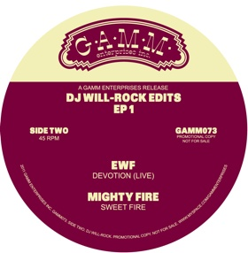 DJ Will/ROCK EDITS EP 1 12""