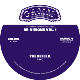 "Reflex/REVISIONS VOLUME 1 12"""