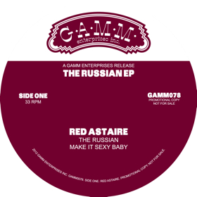 """Red Astaire/THE RUSSIAN EP 12"""""""