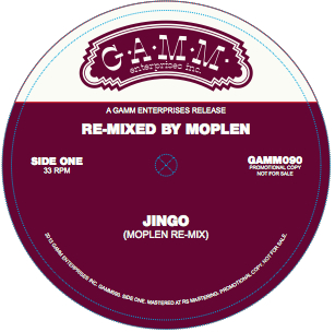 "Moplen/JINGO & CLOUDS 12"""