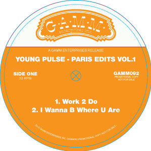 Young Pulse/PARIS EDITS VOL. 1 12""