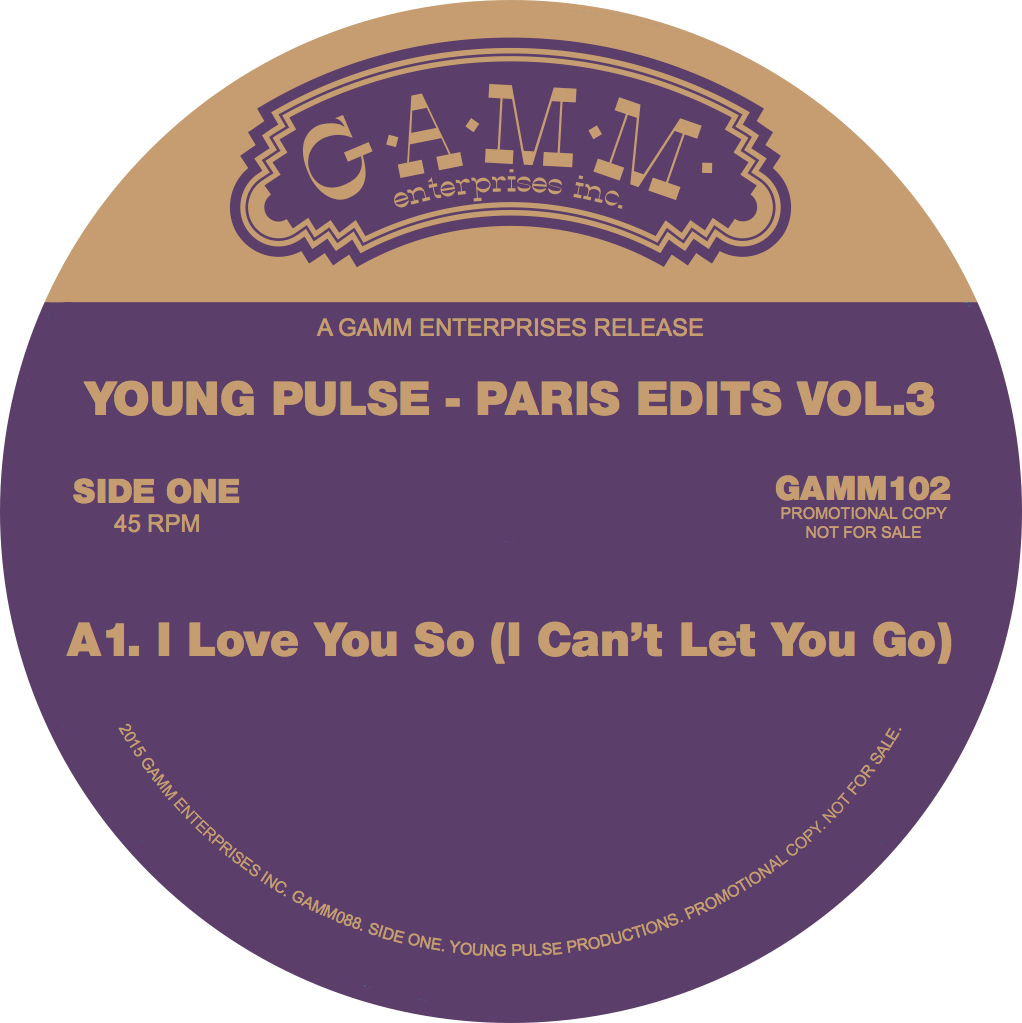 Young Pulse/PARIS EDITS VOL. 3 12""