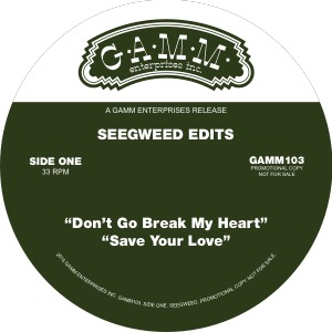 Seegweed Edits/DON'T GO BREAKING... 12""
