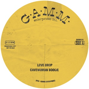 Love Drop/CAVEWOMAN BOOGIE 12""