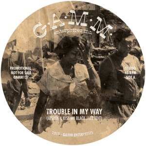 Afshin & Kiss My Black Jazz/TROUBLE 12""