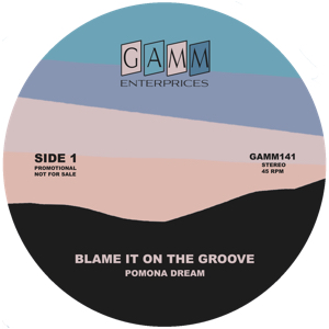 Pomona Dream/BLAME IT ON THE GROOVE 7""