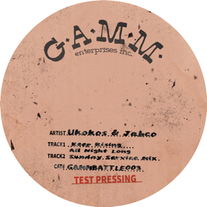 Ukokos & Jabco/KEEP RISING ALL NIGHT 12""