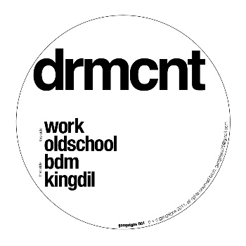 DRMCNT/GANGSIGNS EP 12""