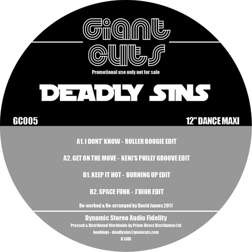 Deadly Sins/GIANT CUTS VOL. 5 12""