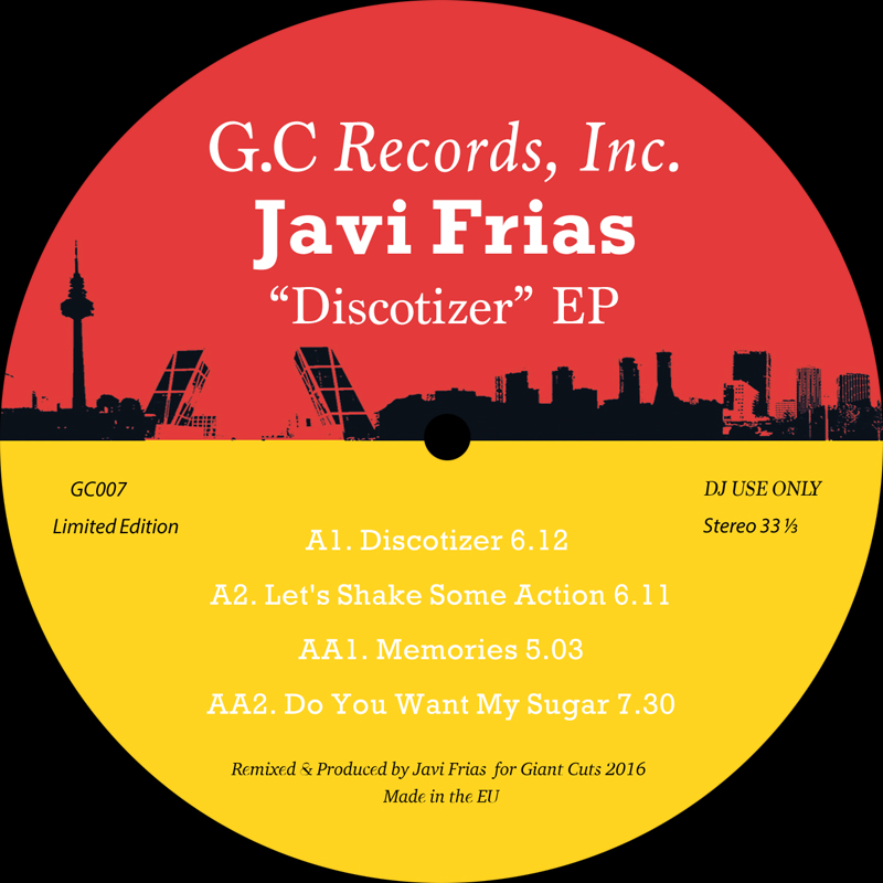 "Javi Frias/DISCOTIZER EP 12"""