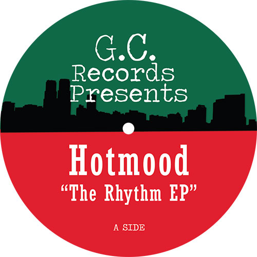 """Hotmood/THE RHYTHM EP 12"""""""