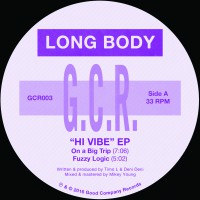 "Long Body/H VIBE EP 12"""