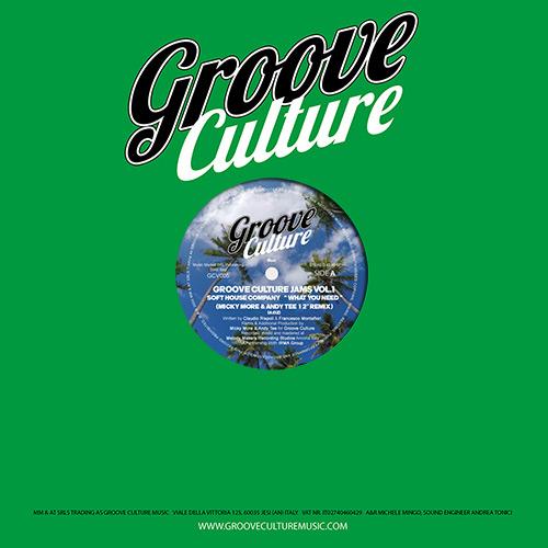 "Various/GROOVE CULTURE JAMS VOL 1 12"""