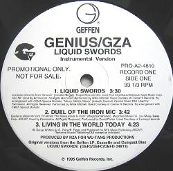 Genius GZA/LIQUID SWORDS INSTR LP