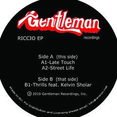 "Riccio/LATE TOUCH EP 12"""