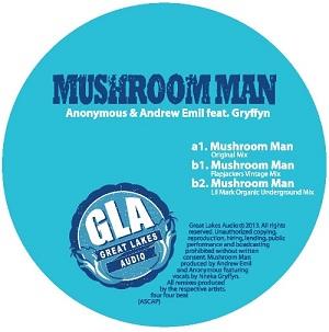 "Anonymous & Andrew Emil/MUSHROOM MAN 12"""