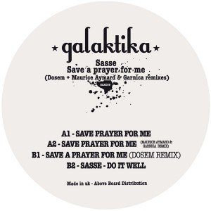 Sasse/SAVE A PRAYER FOR ME 12""