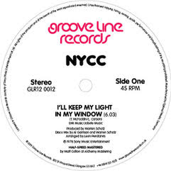 NYCC/I'LL KEEP MY LIGHT IN MY WINDOW 12""