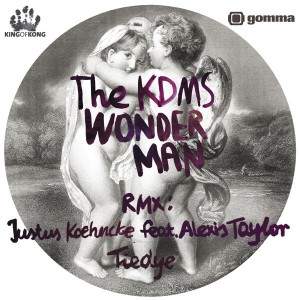 KDMS/WONDERMAN TIEDYE REMIX 12""