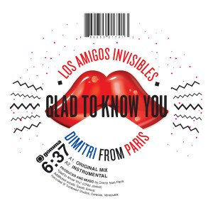 Dimitri From Paris/GLAD TO KNOW YOU 12""