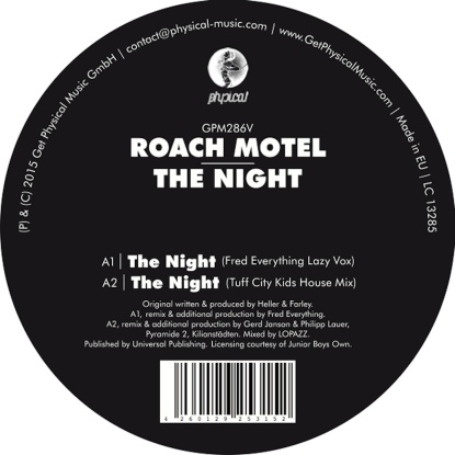 Roach Motel/THE NIGHT 12""