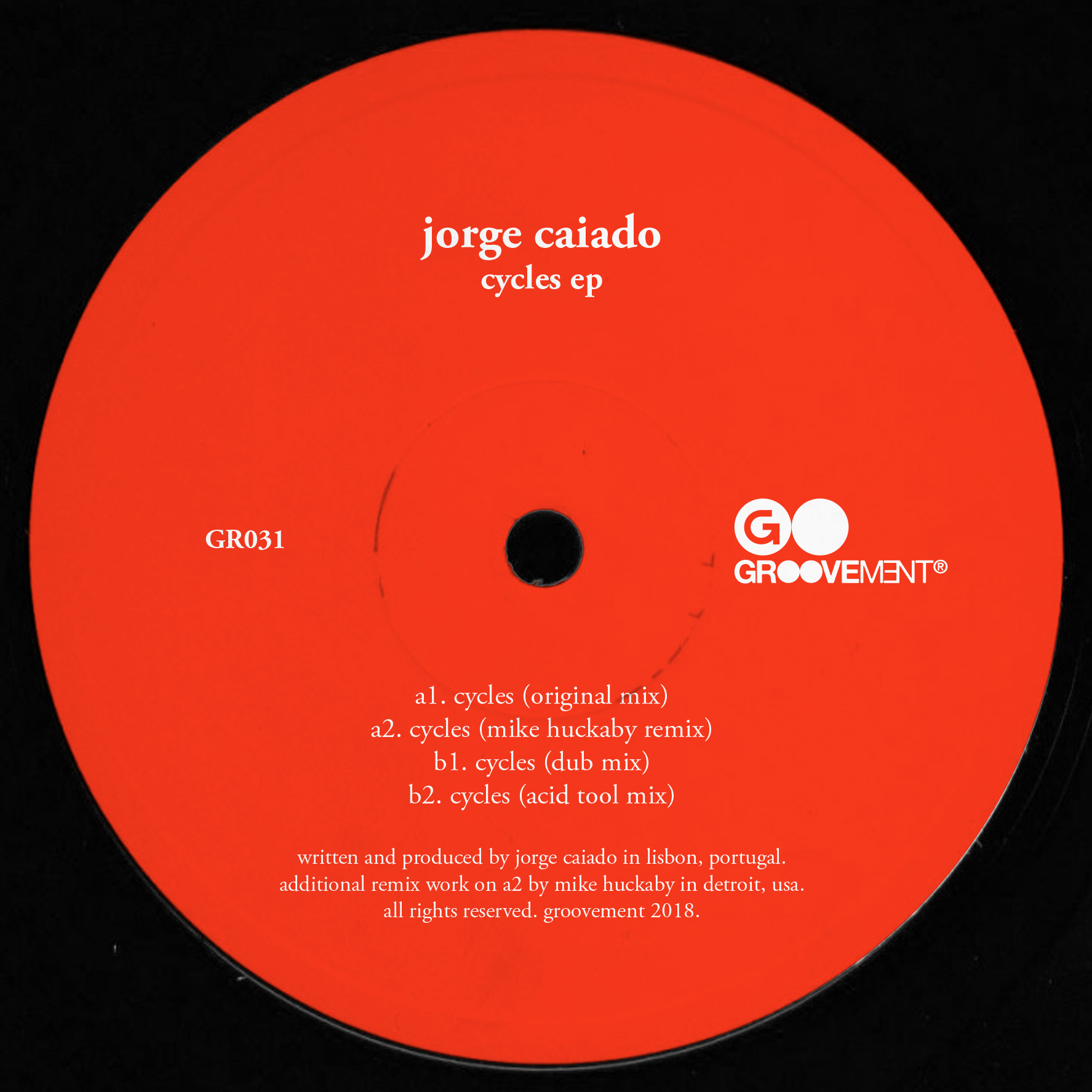 Jorge Caiado/CYCLES-MIKE HUCKABY RMX 12""
