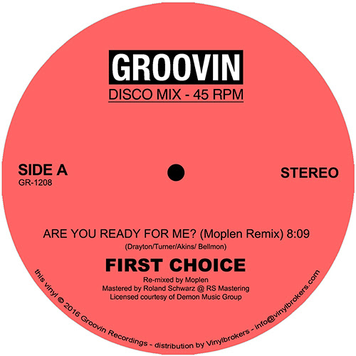 First Choice/ARE YOU READY-MOPLEN RX 12""