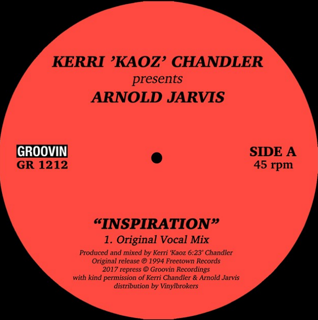 Kerri Chandler/INSPIRATION 12""