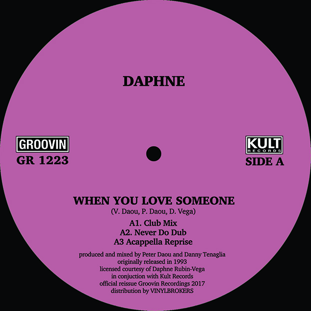 Daphne/WHEN YOU LOVE SOMEONE 12""