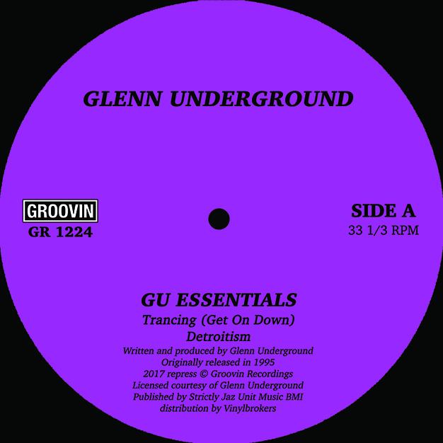 """Glenn Underground/GU ESSENTIALS 12"""""""