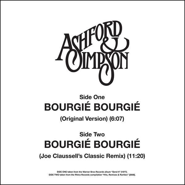 """Ashford & Simpson/BOURGIE BOURGIE 12"""""""