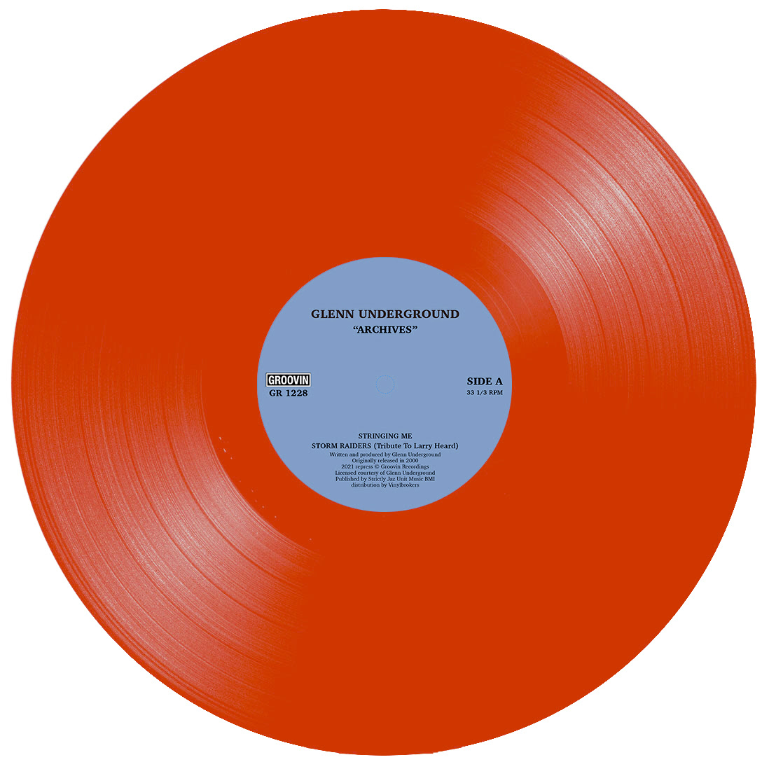 Glenn Underground/ARCHIVES (RED) 12""