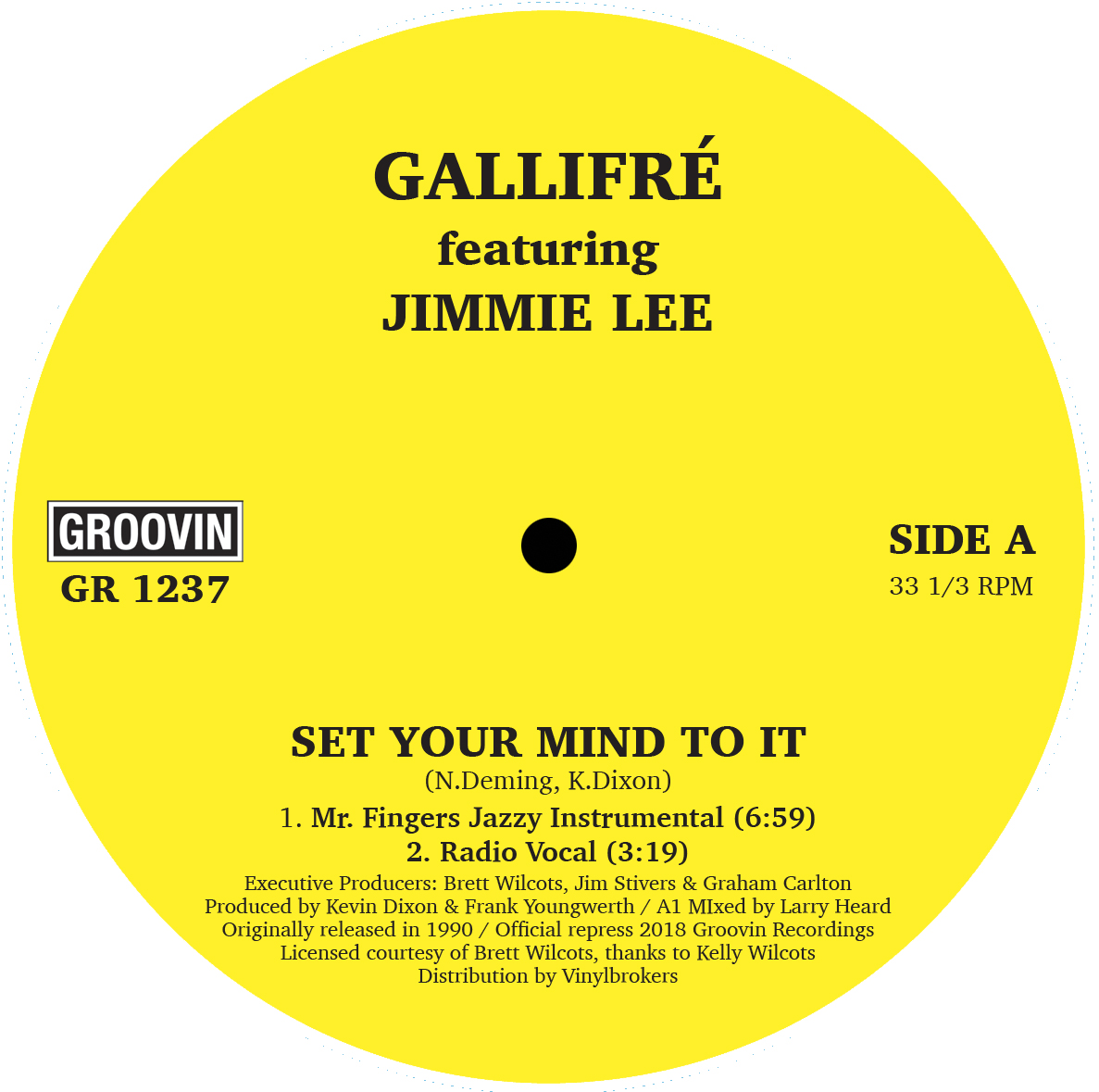 Gallifre/SET YOUR MIND TO IT 12""