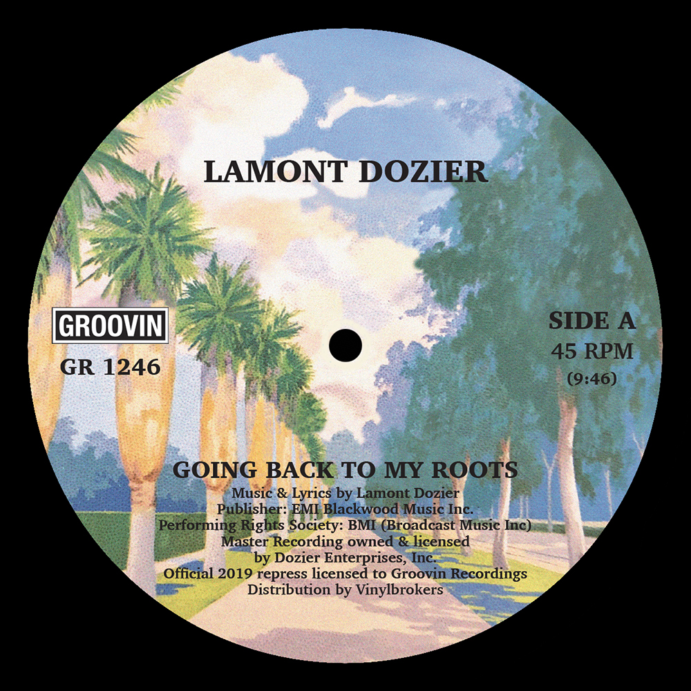 Lamont Dozier/GOING...DANNY K EDIT 12""