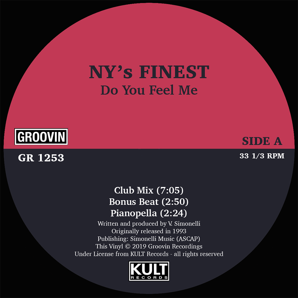 N.Y.'s Finest/DO YO FEEL ME 12""