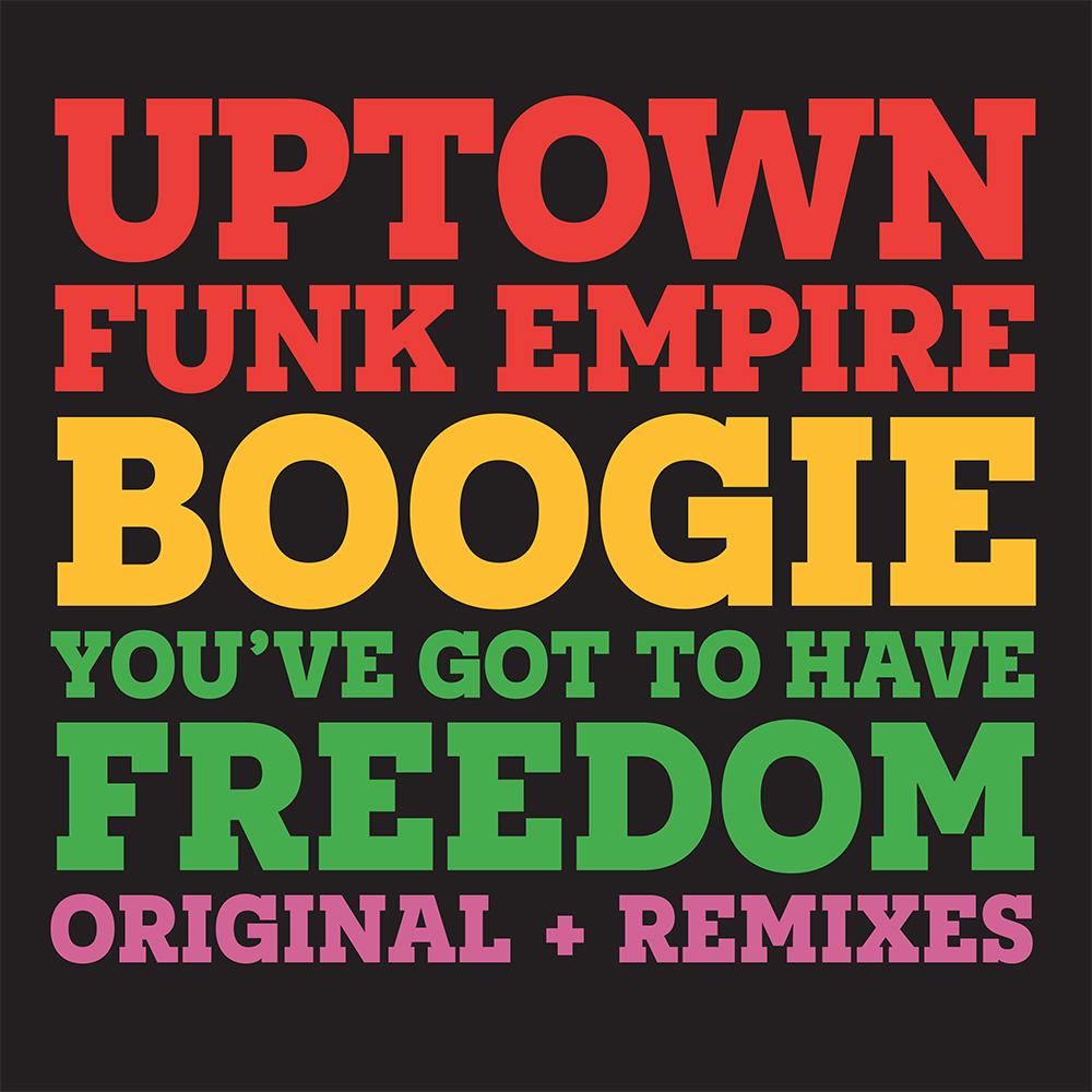 "Uptown Funk Empire/BOOGIE 12"""