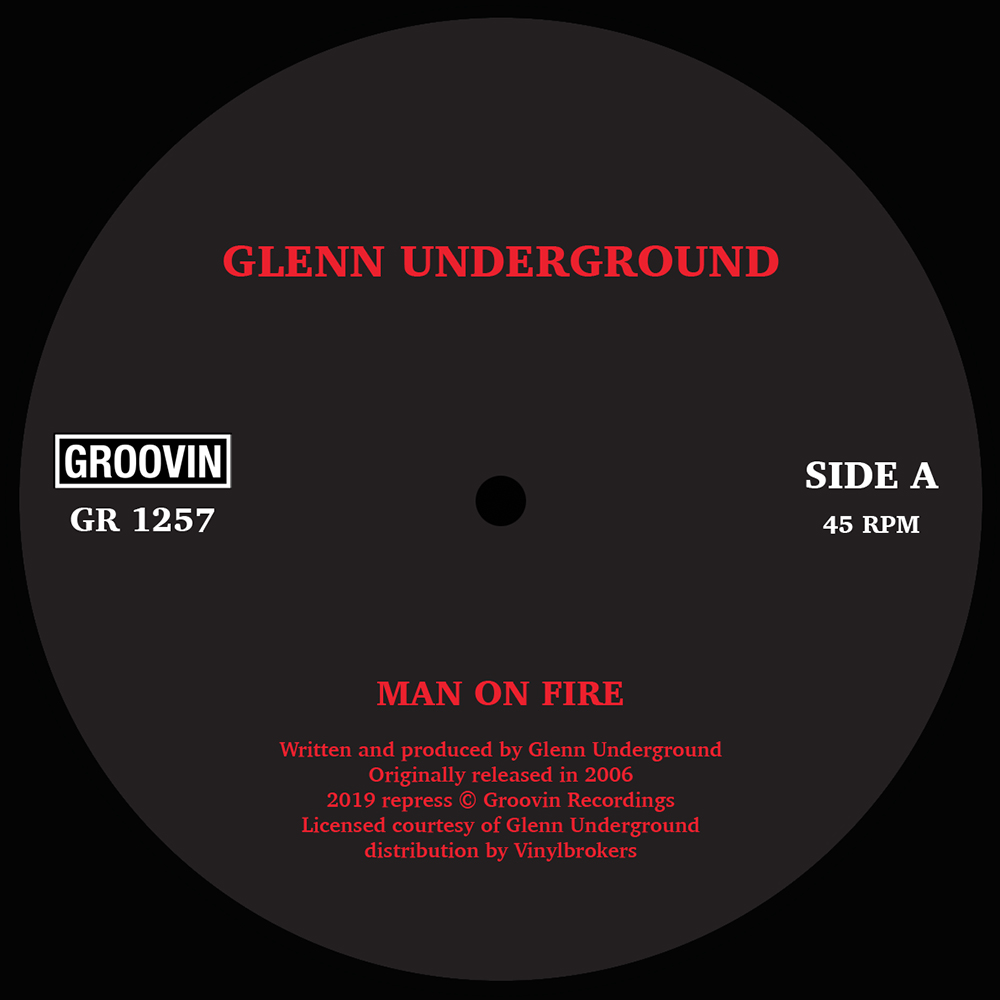 Glenn Underground/MAN ON FIRE 12""