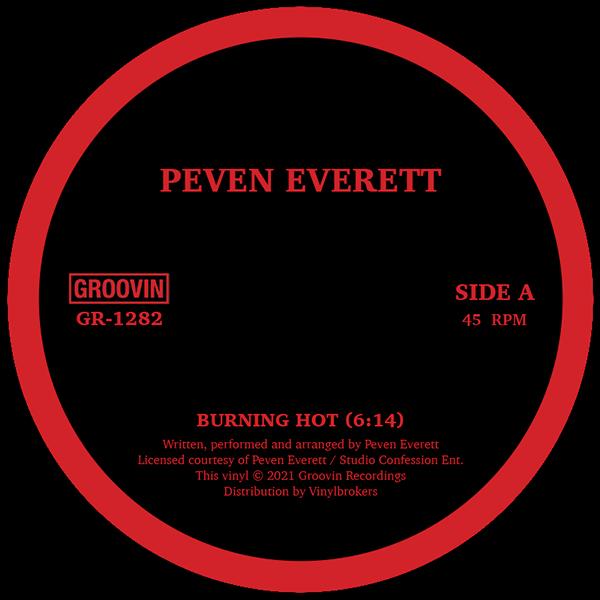 """Peven Everett/BURNING HOT 12"""""""