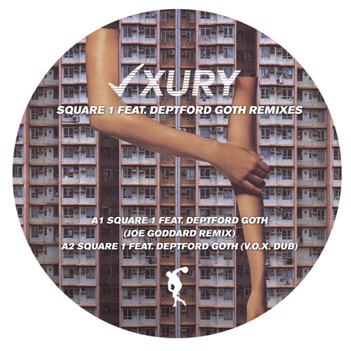 Lxury/SQUARE 1 (JOE GODDARD REMIX) 12""