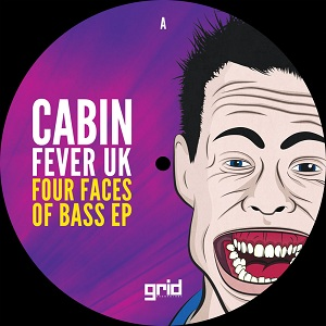 Cabin Fever UK/FOUR FACES OF BASS D12""
