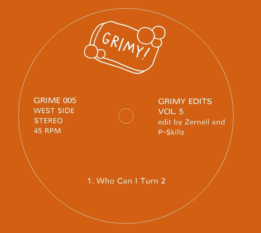 Various/GRIMY EDITS VOL. 5  12""
